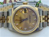 Ladies Midsize Two Tone Jubilee Datejust Ref: 78273 - Diamond Dial